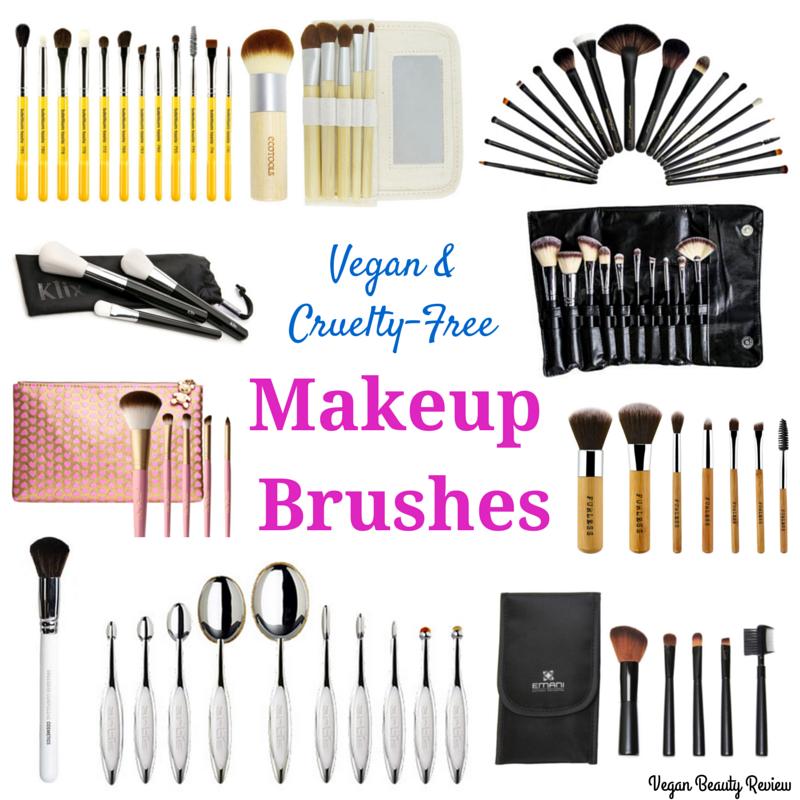 Vegan Cruelty Free Makeup Brushes
