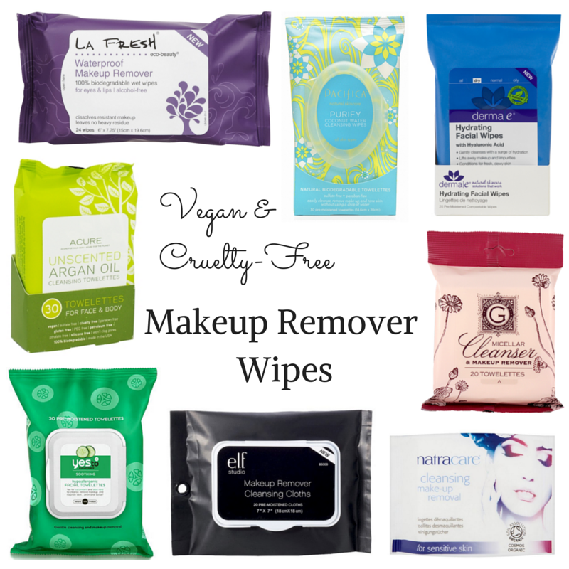 Cruelty Free Makeup Remover Wipes List