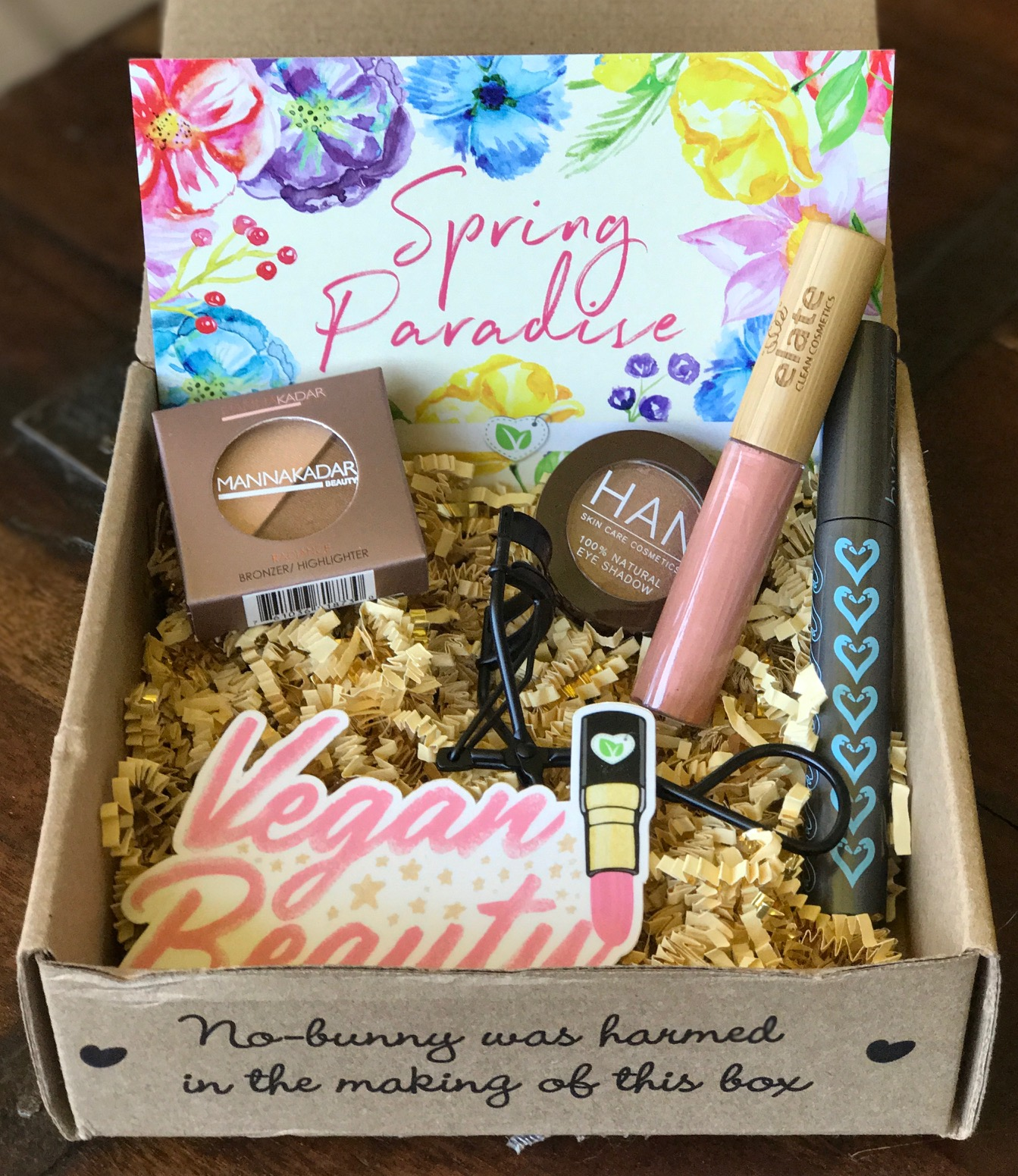 Vegan Cuts Makeup Box Review Spring